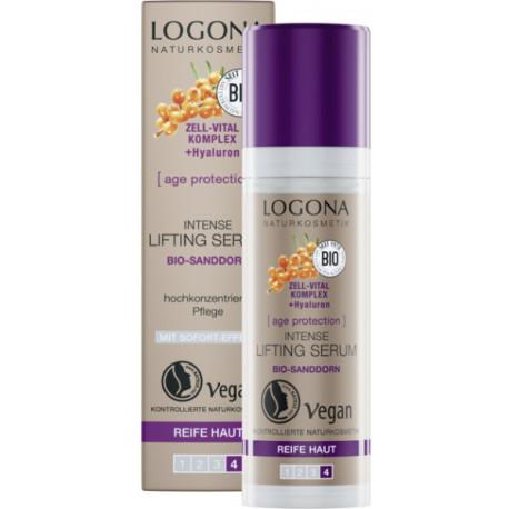 Age Protection Serum Intense Lifting 30 ml Logona anti-rides peaux matures Bio sante senior
