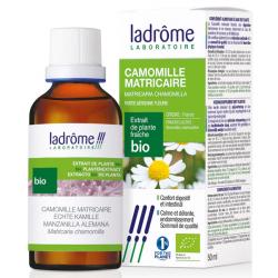 Camomille matricaire bio extrait de plantes fraiches 50ml Ladrome stress nervosité Bio sante senior