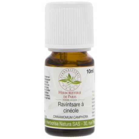Huile Essentielle Ravintsara Bio 10ml Herboristerie de paris antiseptique anti refroidissement Bio sante senior