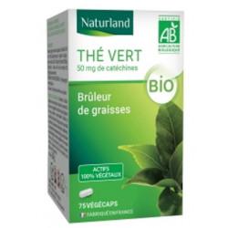 Thé vert - 75 Gélules Végécaps - Naturland