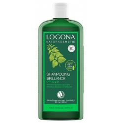 Shampooing Brillance Ortie 250 ml Logona silicium protéines de soie Bio santé sénior