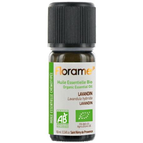 Huile essentielle bio Lavandin 10 ml Florame Lavandula Hybrida stress nervosité Bio sante senior
