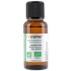 Huile Essentielle Bio Lavande Fine 30 ml Florame lavande vraie officinale Bio santé sénior