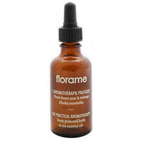Flacon Doseur Gradué avec Pipette volume 50ml Florame combiner les huiles entre elles Bio sante senior