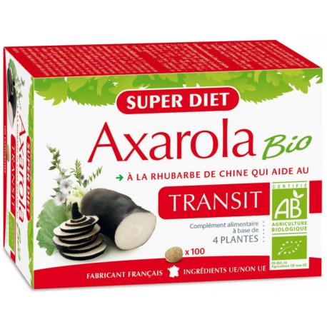Axarola Bio Transit 100 comprimés Super diet régularité du transit Bio sante senior
