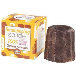 Shampooing Solide Chocolat Cheveux Normaux 55g Lamazuna shampoing éco Bio sante senior