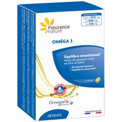 Oméga 3 Omégavie 60 capsules Fleurance Nature