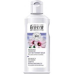 Lait nettoyant doux FACES Amande et Mauve 125 ml Lavera