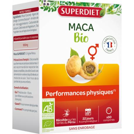 Maca Bio 90 comprimés Super Diet Bio santé sénior