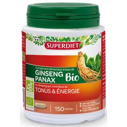Ginseng Bio Tonus et énergie 150 gélules Super Diet