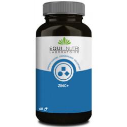 Zinc 60 gélules végétales plus Equi Nutri pidolate de zinc vitamine B6 Bio sante senior
