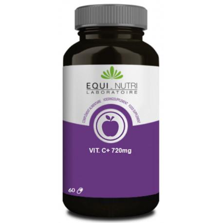 Vitamine C + TR 60 comprimés sécables Equi Nutri vitamine C effet prolongé Bio santé sénior