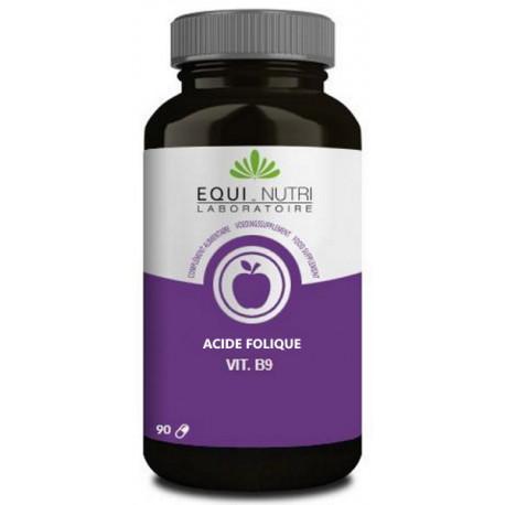 vitamine B9 acide folique 90 gélules Equi Nutri vitamines du groupe B Bio santé sénior
