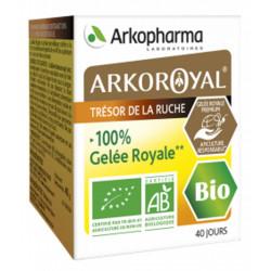 Gelee royale pure Bio en pot Arkopharma, tonus vitalité énergie biosantesenior.fr