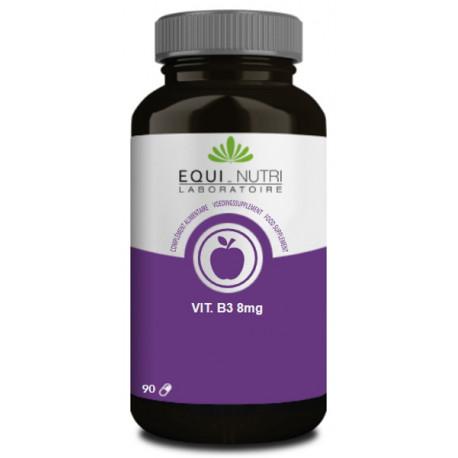 Vitamine B3 90 gélules végétales Equi Nutri bio sante senior