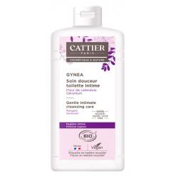 Soin douceur Gynéa Fleur de Calendula Géranium 200 ml Cattier contre les irritations vaginales Bio santé sénior