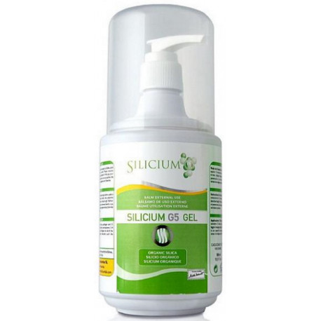 Silicium organique G5 muscles articulations gel doseur 500ml Silicium Espana