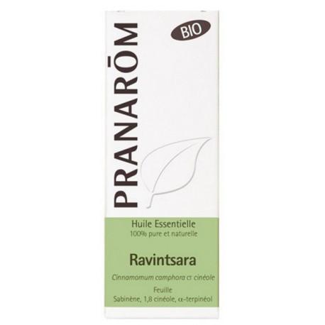 Huile essentielle de Ravintsara Bio Flacon 10ml Pranarôm immunité refroidissements virus Bio santé sénior