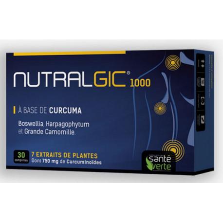 Nutralgic 30 comprimés Santé Verte boswellia curcuma grande camomille Bio santé sénior