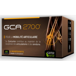 GCA 2700 60 Comprimés - Glucosamine Santé Verte