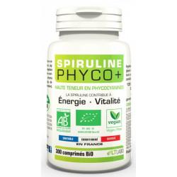 Spiruline Bio PHYCO PLUS 300 comprimés LT Labo