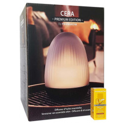 Diffuseur Ultrasonique Cera Premium Pranarôm à ultrasons aromathérapie Bio santé sénior