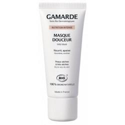 Nutrition Intense Masque douceur peaux sèches à très sèches 40 gr Gamarde hydratant anti-âge Bio santé sénior