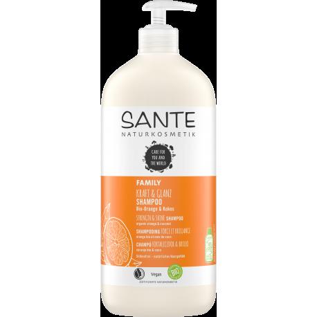 Shampoing Force et Brillance Orange Coco 950ml SANTE
