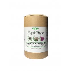 Levure de riz rouge bio 120 gélules - 4 mois de cure Esprit Phyto monacoline K cholestérol Bio santé sénior