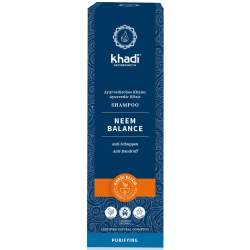 Shampoing ayurvédique au Neem 200 ml Khadi cheveux secs et ternes Bio sante senior
