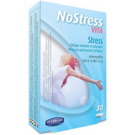 Nostress Vita ashwagandha SOD 30 gélules Orthonat Nutrition fatigue mentale et physique Bio santé sénior