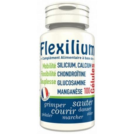 Flexilium Glucosamine Chondroitine Silicium 100 gélules LT LABO sensibilité articulaire Bio santé sénior