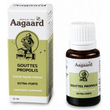 Aagaard Gouttes Propolis Flacon Gouttes 15ml propoline Bio santé sénior défenses
