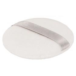 Houppette en coton Couleur Caramel poudre libre ou poudre compacte à appliquer Bio sante senior