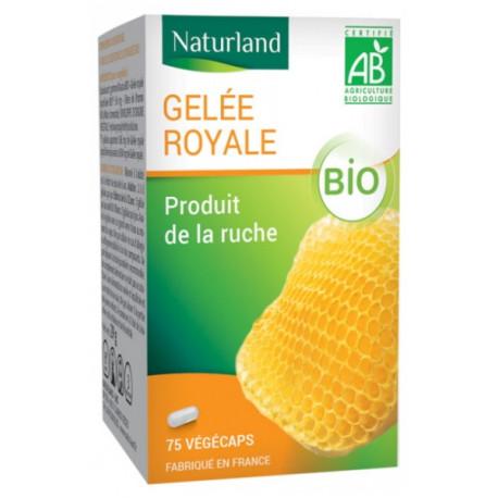Gelée royale Bio 75 gélules Naturland