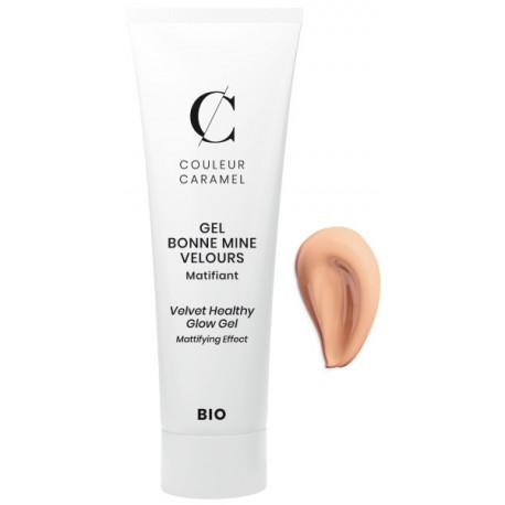 Gel Bonne mine Velours No 61 Sable Chaud 30ml Couleur Caramel maquillage minéral Bio sante senior