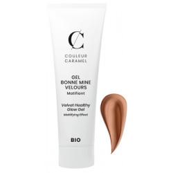 Gel Bonne mine Velours No 63 Caramel 30 ml Couleur Caramel maquillage minéral du teint bio sante senior