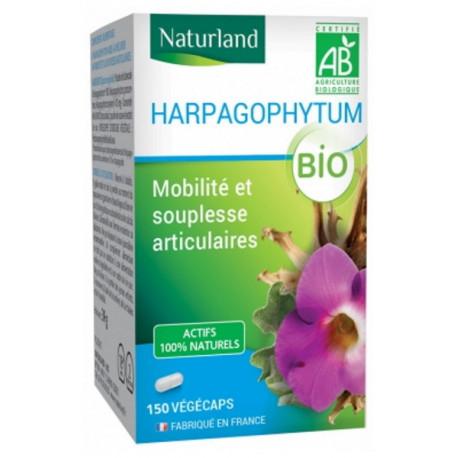 Harpagophytum Bio 150 gélules végétales Naturland