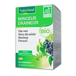 The vert Marc de raisin Bouleau Queue de cerise Bio 90 COMPRIMES Naturland