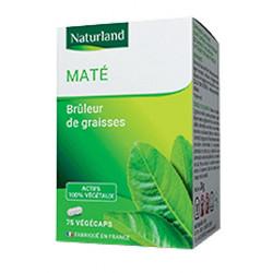 Maté Vert - 75 Gélules Végécaps - Naturland