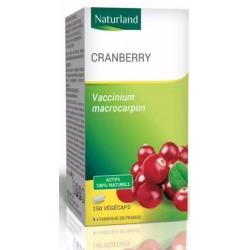 Cranberry bio - 150 Gélules Végétales - Naturland - Arkopharma Biosantesenior.fr