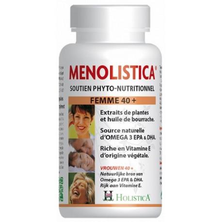 Menolistica 120 capsules Holistica - ménopause et vitalité Bio sante senior