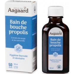 Bain de Bouche a la Propolis 50ml Aagaard Bio sante senior