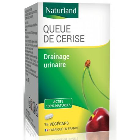 Queue de Cerise - 75 Gélules Végécaps - Naturland draineur urinaire Bio santé sénior