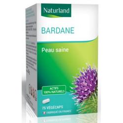 Bardane Racine - 75 gélules végécaps - Naturland Bio santé sénior