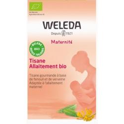 Tisane allaitement bio 20 sachets Weleda fenouil carvi fénugrec galactogène Bio santé sénior