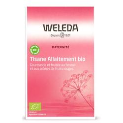 Tisane allaitement bio Fruits rouges 20 sachets Weleda digestion lactation maternelle Bio santé sénior