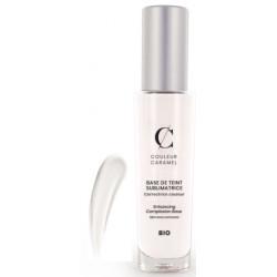 Base de teint sublimatrice No 20 Blanche tube de 30ml Couleur Caramel estompante anti-imperfections Bio santé sénior