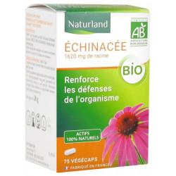 Echinacée Bio 75 gélules végétales Naturland