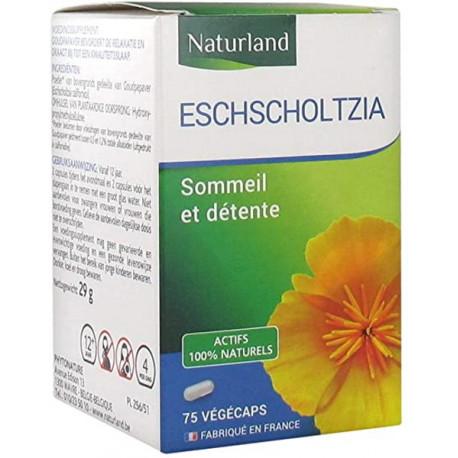 Escholtzia 75 gélules végétales Végécaps Naturland